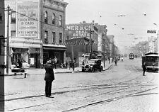 1923 NEW YORK CITY Trolley #255 PHOTO NEGATIVE-Railroad