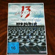 DIRECTOR TAKASHI MIIKE SIGNED 13 ASSASSINS 12X18 MOVIE POSTER!!!