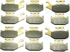 12 Front Rear Brake Pads Fit Can Am Outlander 400 500 650 800 2007-2011 Brakes