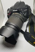 Nikon D5100 16.2MP Digital SLR Camera Nikkor AF-S ED IF DX 18-105 mm1: 3.5-5.6