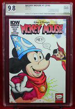DOCTOR STRANGE & MICKEY #1 PGX 9.8 NM/MT Near Mint Sketch Cover ANTHONY D. LEE!!