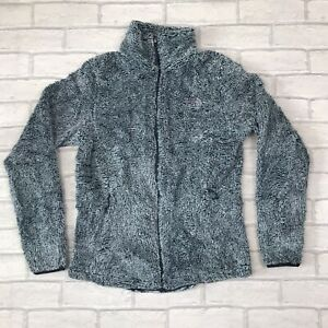 The North Face Women's Bluey Grey Fluffy Fleece Size S Mint Condition Never Worn