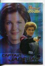 Star Trek Women Of Voyager Holofex Promo Card Janeway Holofoil