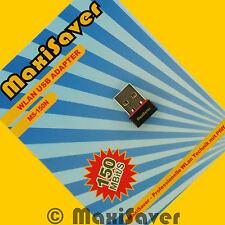 150MBit N MINI USB Wlan Stick Wireless Adapter 150 Mbit/s 802.11b/g/n MS-150N