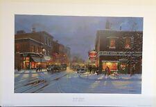 """Dave Barnhouse """"'tis the Season"""" S/N Ltd Ed Print #182/1250"""