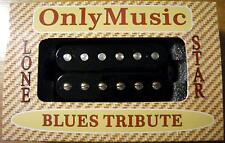 "Compatible with LES PAUL SG ONLYMUSIC BLUES TRIBUTE ""LONE STAR"" BRIDGE PICKUP"