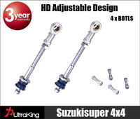 GQ Y60 GU Y61 Patrol Front Extended Adjustable sway bar link kit Nissan 2-8 inch