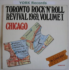 CHICAGO - Toronto Rock n Roll Revival - Ex LP Record