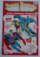 DC Super Friends ACTION VALENTINE PLAYBOOK Wonder Woman