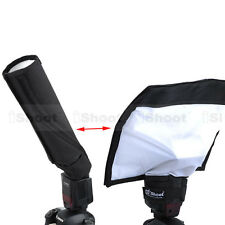 Foldable Reflector/Snoot Reflective Flash Diffuser Softbox f Canon Pentax Nissin