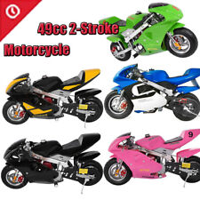 49cc 2-Strokes Engine kids&Teens 40 Km/h Mini Gas Power Pocket Bike Motor Gift