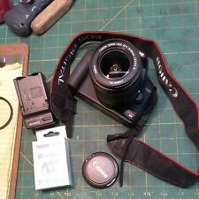 Canon EOS Rebel XS Camera W/ Canon EFS 18 TO 56 mm Lens, 2 Batteries and Charger