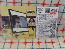 VCD VIDEO CD LADYHAWKE RIHANNA COLDPLAY KID ROCK MILEY CYRUS ALICIA KEYS DELTA