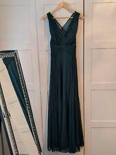 Vestido de noche Verde Dama de honor/PROM/por Asos Talla 10