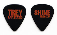 Phish Trey Anastasio Signature Black Guitar Pick - 2005 Shine Tour