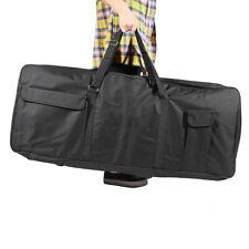 61-Key Keyboard Electric Piano Organ Gig Bag Soft Case Foam Padded Black X9Z9