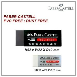 FABER- CASTELL Dust Free / PVC Free Eraser for Extra Clean (Select)