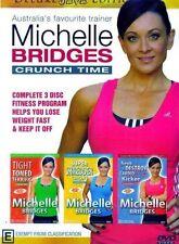 Michelle Bridges Crunch Time Complete 3 Disc Fitness Program DVD R4