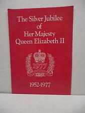 Silver Jubilee Her Majesty Queen Elizabeth II Catalog Magazine Silver Goblets