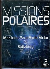 DVD Missions polaires - Missions Paul Emile Victor & Spitzberg |Neuf| refA
