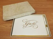 Genuine C.R Gibson Wedding Guest Signing Book With Space for 912 Guests *READ*