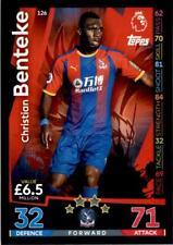 Match Attax 18/19 Christian Benteke Crystal Palace Base card No. 126