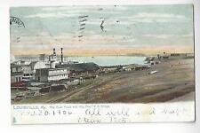 "1906 Louisville, Kentucky - The River Front & ""Big Four"" R.R. Bridge"