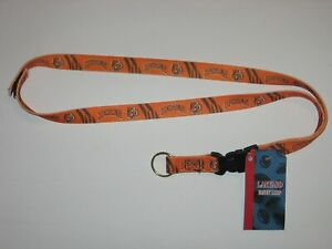 Cincinnati Bengals Lanyard Keychain w/ 'Hook & Loop' Breakaway Fastener
