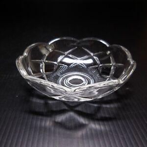 Coupelle verre cristal pampille lustre éclairage déco Restauration Empire N7607