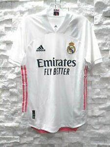 Adidas Real Madrid Authentique Maillot Domicile (FM4736) Blanc Rose