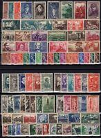 PP137252/ FRANCE – YEARS 1937 - 1944 MINT MNH / MH SEMI MODERN LOT – CV 150 $