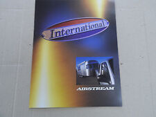 Airstream International CCD Brochure Very Rare First Year