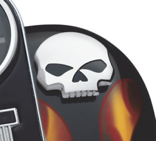Skull Gas Petrol Fuel Tank Cap Right Harley Sportster Dyna Softail Road King O1
