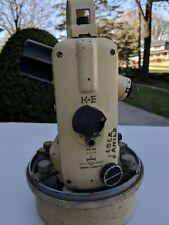 Vintage Us Navy Keuffel Amp Esser Theodolite Surveying Directional With Case