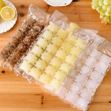 Useful 10*24pcs Portable Disposable Ice Tray Ice Cube Mold Bags Self-sealing