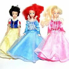 "Disney 6"" Toy Figure Set Ariel the Little Mermaid,  Sleeping Beauty & Snow White"