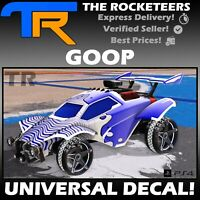 [PS4/PSN] Rocket League GOOP Very Rare Universal Decal Totally Awesome Crate