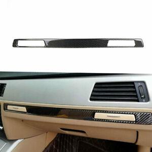 For 2005-2012 BMW 3 Series E90 E93 Carbon Fiber Copilot Cup Holder Strip Trim