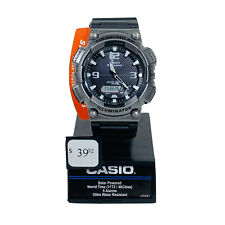Casio Aqs810w-14tn Watch Illuminator Tough Solar World Time 5 Alarms Men's