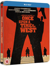 Once Upon A Time in The West - Limited Edition Steelbook Blu-Ray Disc! New!