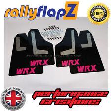 Rallyflapz SUBARU IMPREZA Coupé (08-14) FANGO alette nero WRX Rosa 4mm PVC