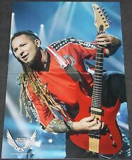 Five Finger Death Punch Zoltan Bathory centerfold poster Nirvana Kurt Cobain