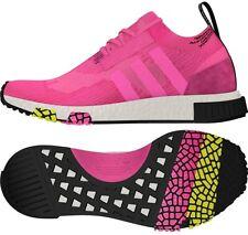 Adidas Originals Nmd Racer Pk Primeknit Boost Solar Pink Men Running Shoe CQ2442