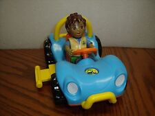 "Dora the Explorer Go Diego Go Race Car 8-1/2"" long Action Figure LOT"