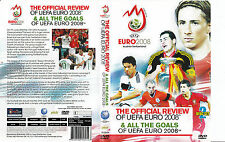 EURO 2008 OFFICIAL REVIEW AND ALL THE GOALS 2DVD SET BRAND NEW SEALED UEFA