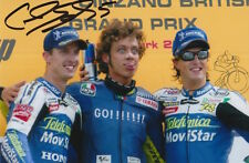 COLIN EDWARDS HAND SIGNED MOVISTAR HONDA MOTOGP 6X4 PHOTO.