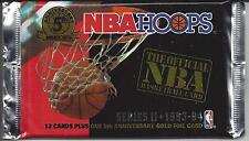 Hoops-1993-94-NBA Basketball 12 Sealed Packs-Series 2