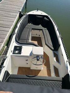 SILVER 525 GFK Boot MotorBoot silveryacht Gleiter NEU 15-50 PS Elektro Motor