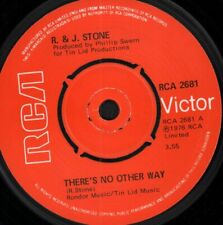 R & J Stone There's No Other Way 7 Inch Vinyl Uk Rca Victor 1976 Rca2681