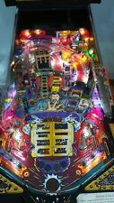 PINBALL TAF+TOM ADDAMS FAMILY BALLY+THE THEATRE OF MAGIC. restored and working.